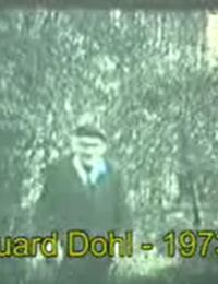 Eduard Dohl im Garten (1973)